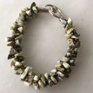 Jewelry - Beautiful natural colored Kumihimo bracelet